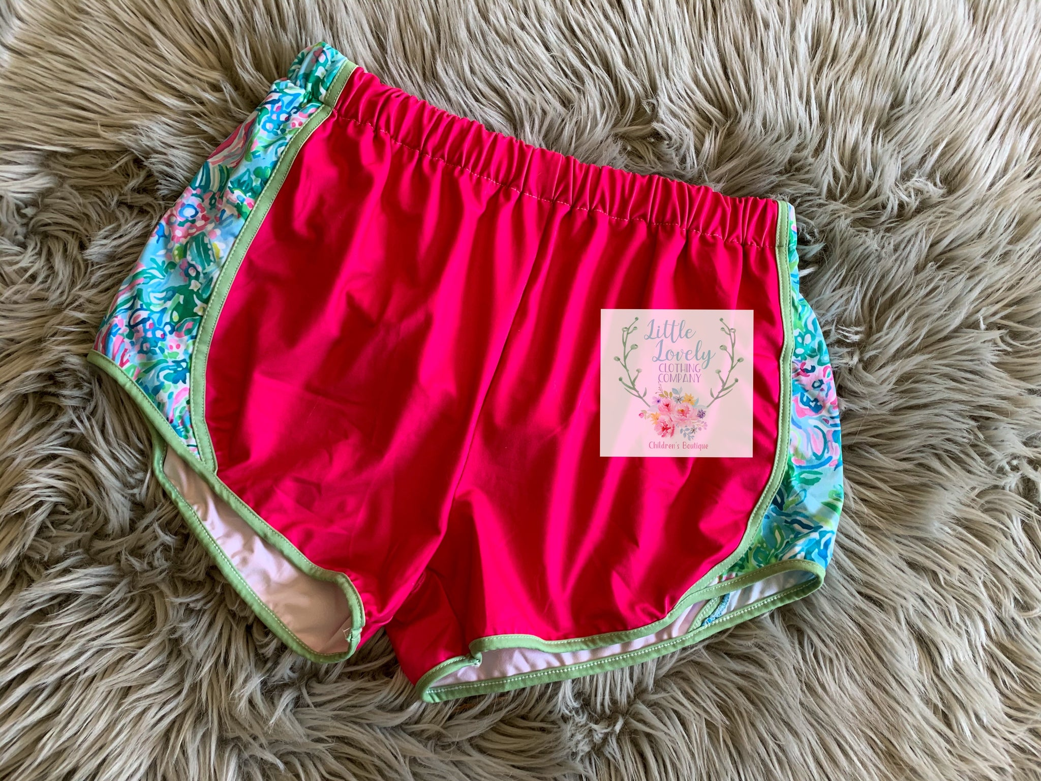 Lilly Ladies Lounge Shorts