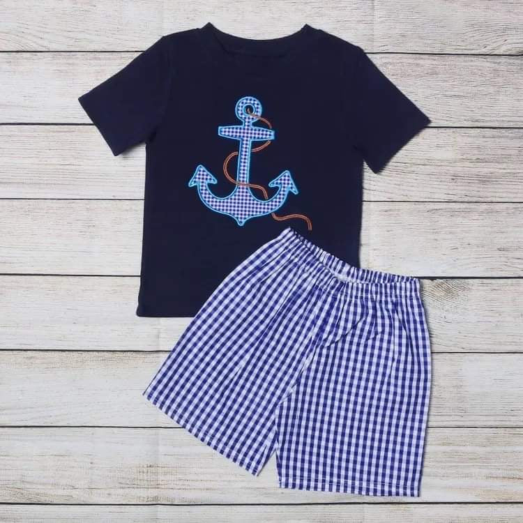 Anchor Boys Short Set