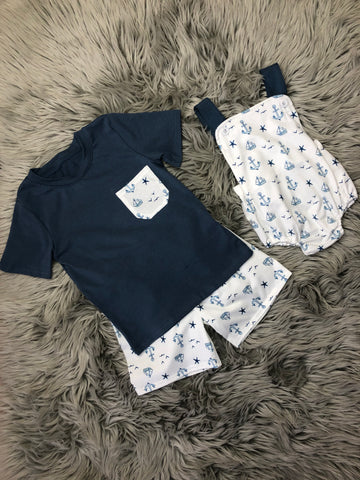 Anchors Away Boy Set