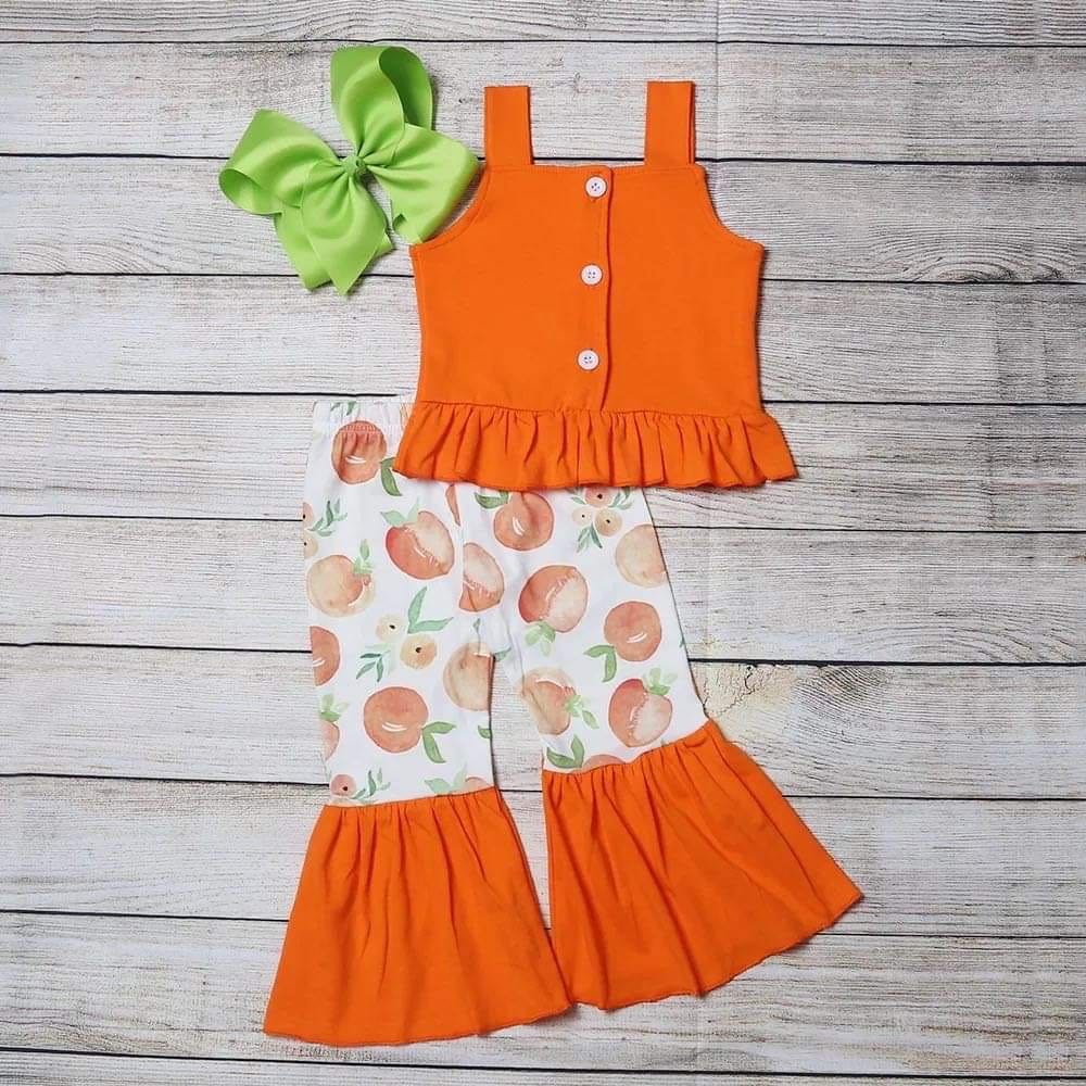 Pretty Peach Bell Set