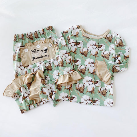 Cotton Pickin' Cute Girls PJs