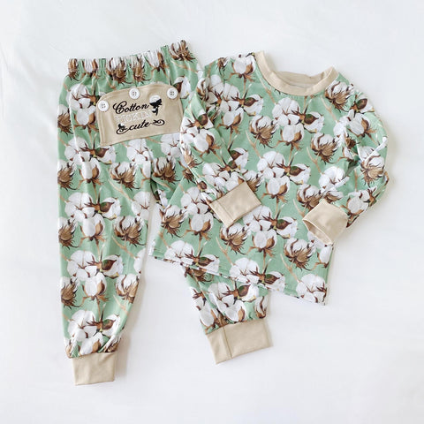 Cotton Pickin' Cute Boys PJs