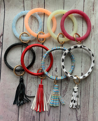 Bangle Bracket Key Rings