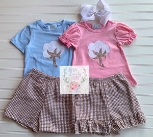 Cotton Boys Short Set