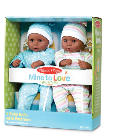 Mine to Love Twins Tyler & Taylor Dolls