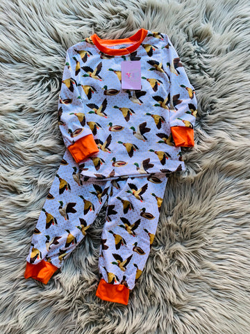 Fly Away Duck Boys PJ Set