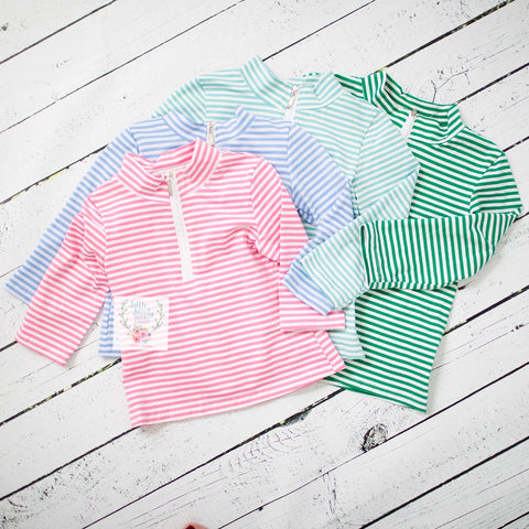 Pink Stripe Pullover