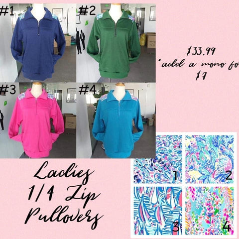 Ladies Lilly Accent Pullovers