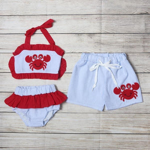 Crab Swim Trunks