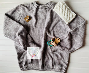 Bethany Chenille Sweater PLUS
