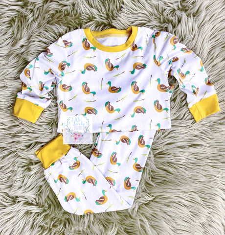 Sitting Duck Boys PJ Set