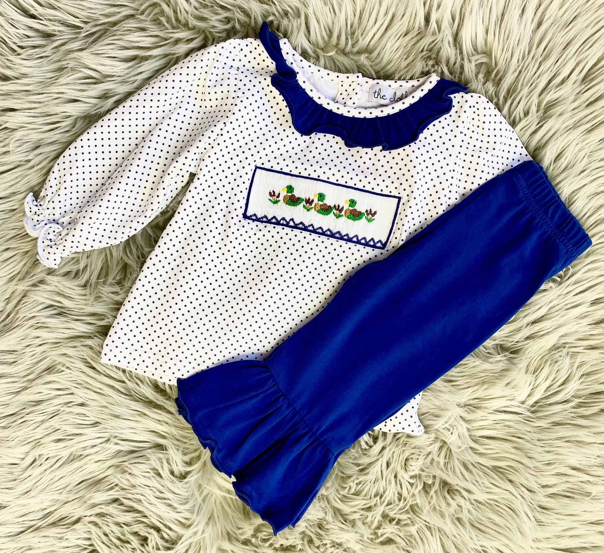 Three Ducks Girls Pants Set
