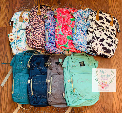 Back Pack Diaper Bags