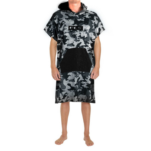 FCS Change Poncho Grey/Camo