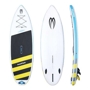 "2018 Badfish 9'6"" Rivershred **Free 3 Piece Red Paddle CO. Paddle and  Free shipping in Canada**"