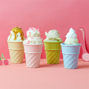 Ice Cream Cone Cups: Set of Four