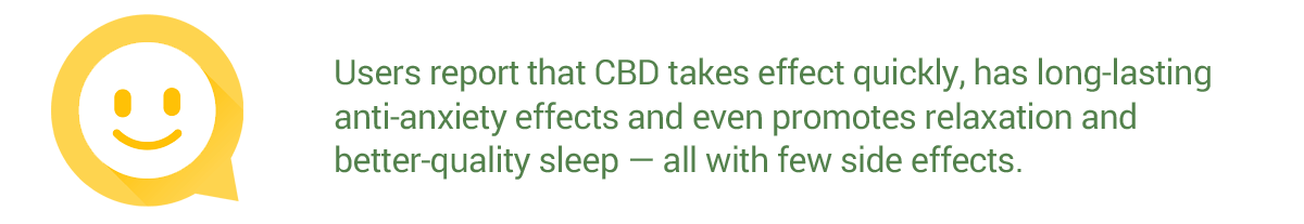 CBD for Anxiety Disorder