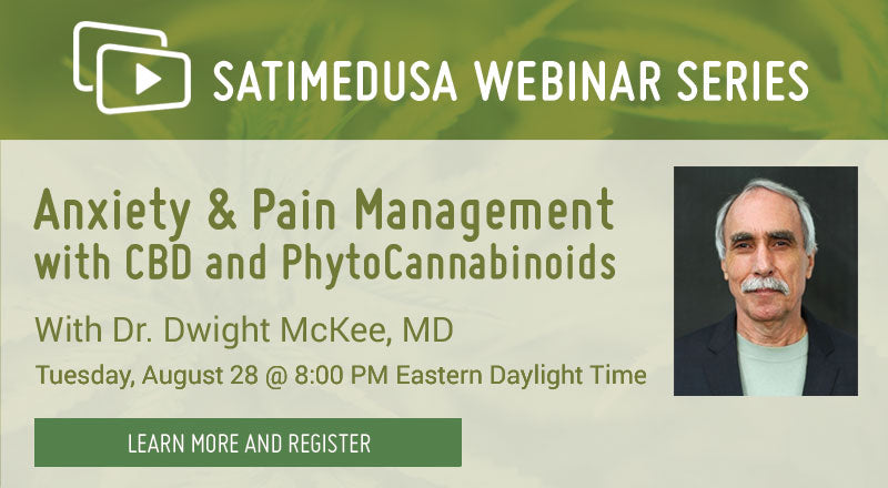 Webinar Anxiety and Pain Management with CBD