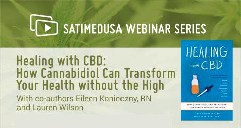 SatiMedUSA Webinar Series Healing with CBD book