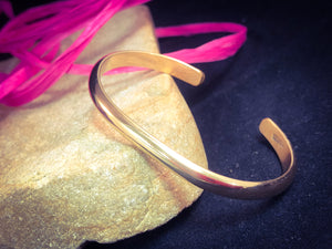 Child Gold Plain Bracelet - BR27C