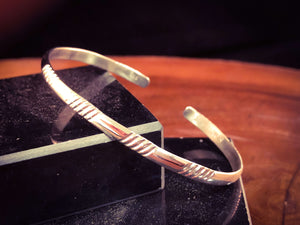 Ribbed & Plain Pattern Cuff - JB4A