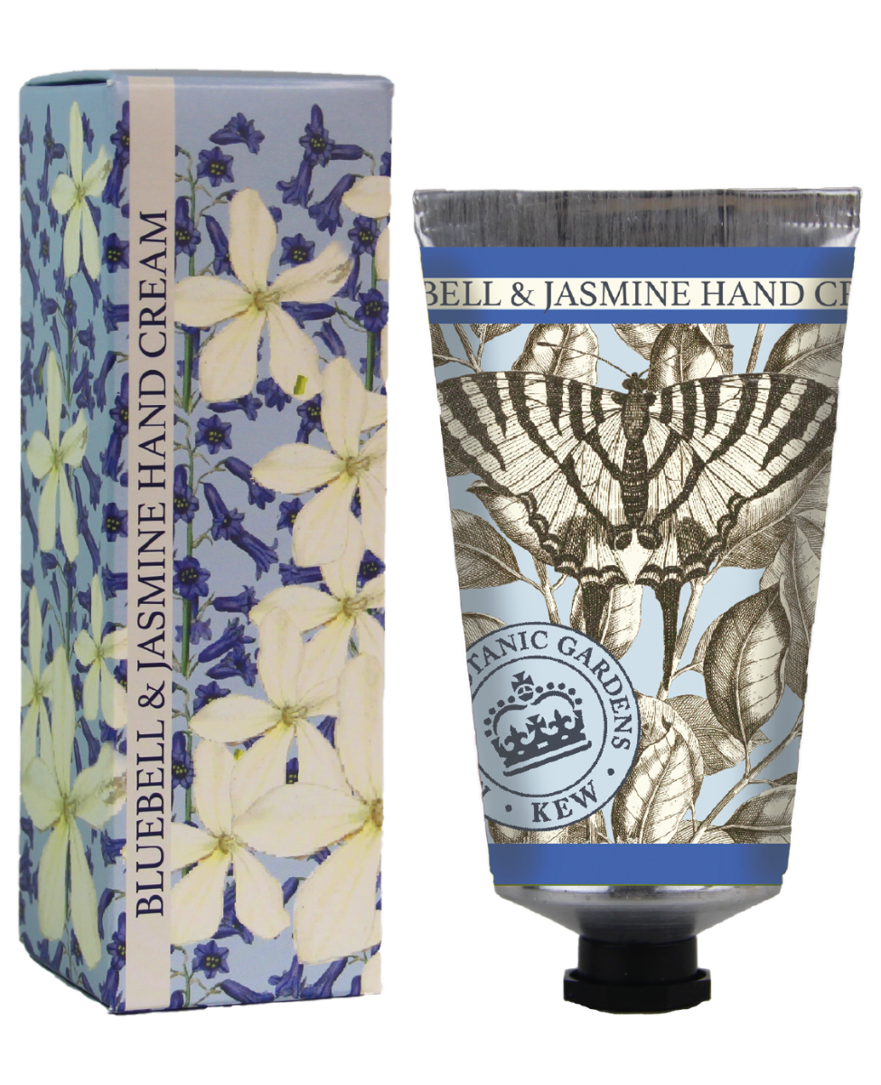 Kew Gardens Botanical -  Bluebell & Jasmine - Luxury Hand Cream
