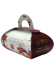 English Soap Company Luxury Bath Soap - Clematis & Lime Blossom
