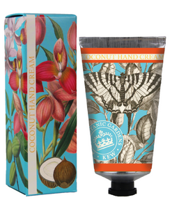 Kew Gardens Botanical -  Coconut - Luxury Hand Cream