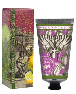 Kew Gardens Botanical -  Elderflower & Pomelo - Luxury Hand Cream