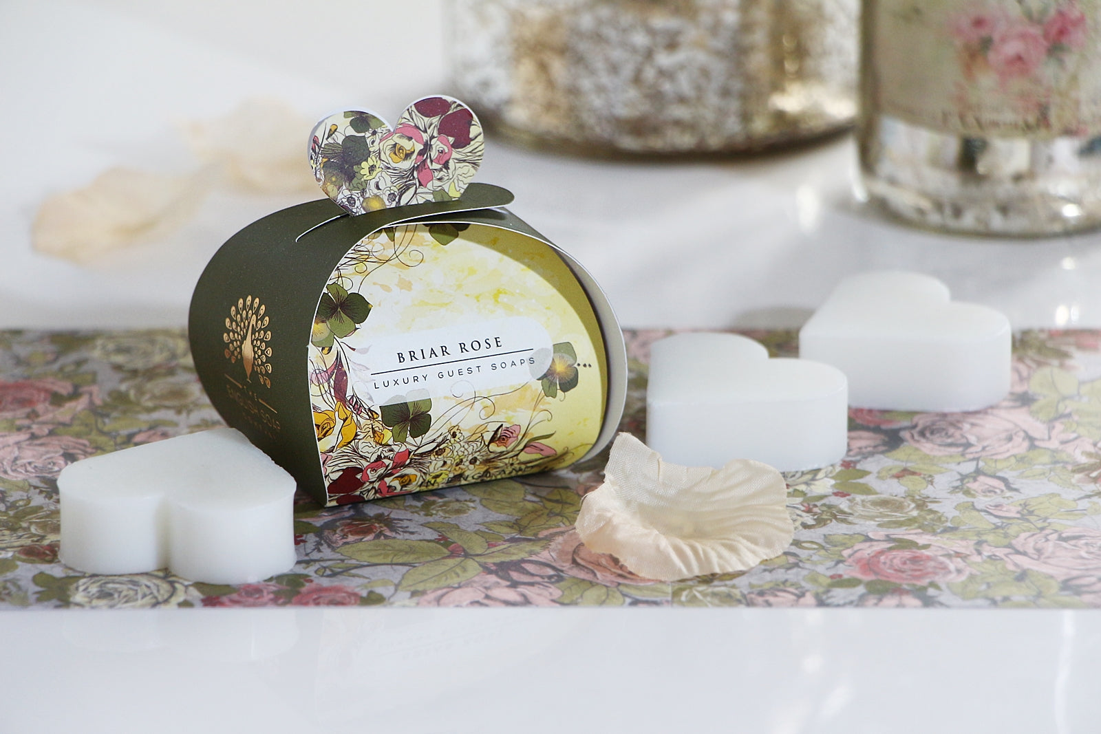 English Soap Company Luxury Guest Soaps - Briar Rose