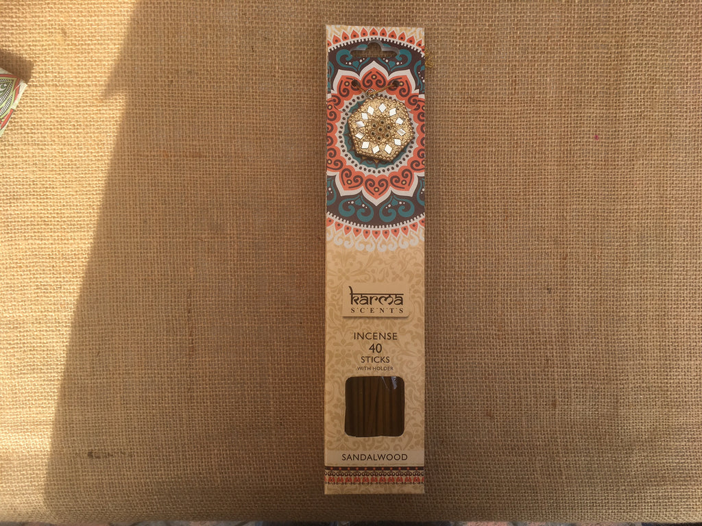 Karma Incense sticks - Sandalwood fragrance