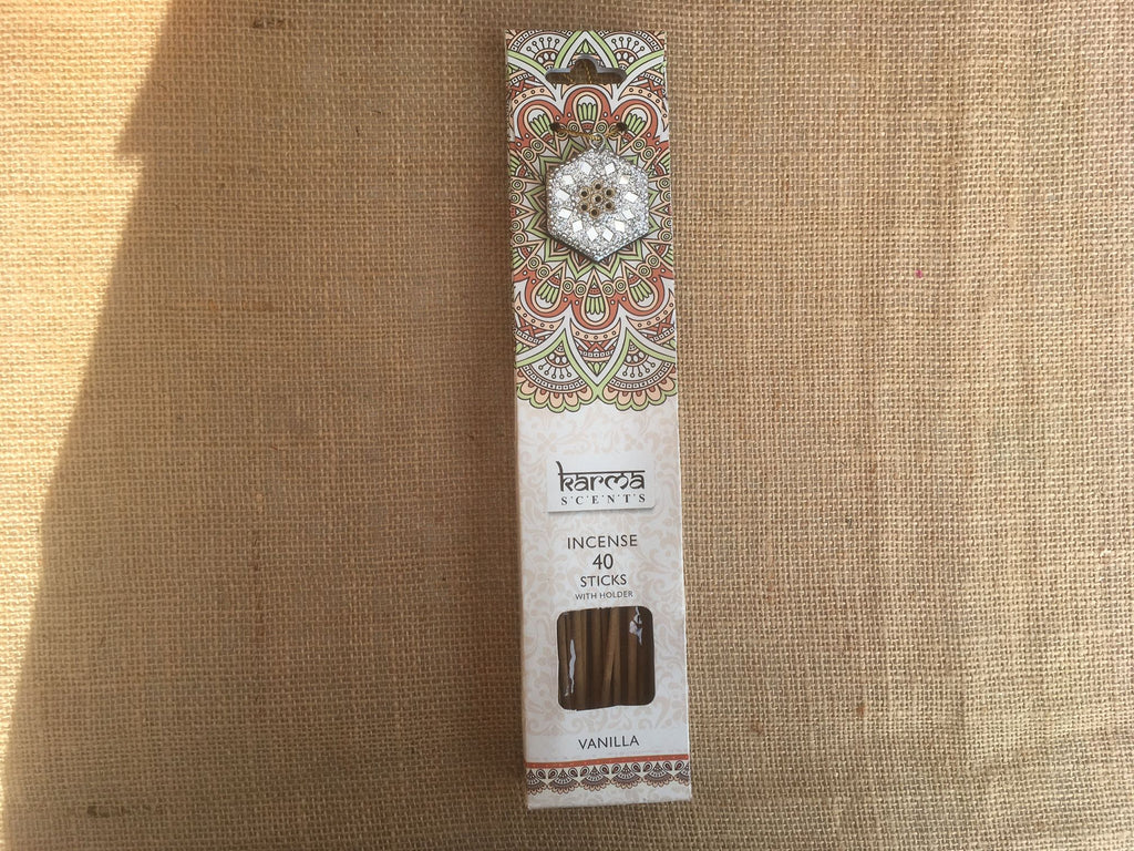 Karma Incense sticks - Vanilla fragrance