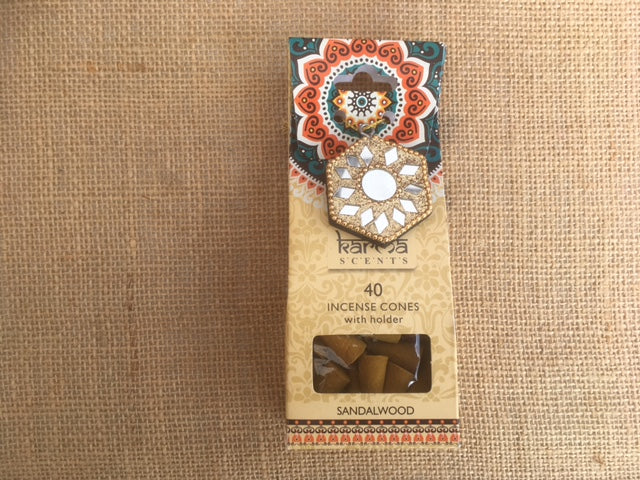 Karma Incense cones - Sandalwood fragrance