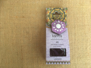 Karma Incense cones - Lavender fragrance