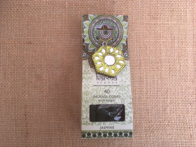 Karma Incense cones - Jasmine fragrance