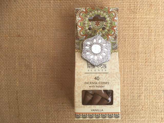 Karma Incense cones - Vanilla fragrance