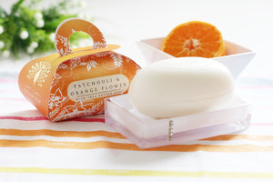 English Soap Company Luxury Bath Soap - Patchouli & Orange