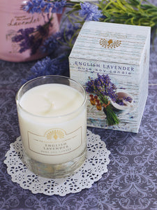 English Soap Company Soy Wax Candle - English Lavender