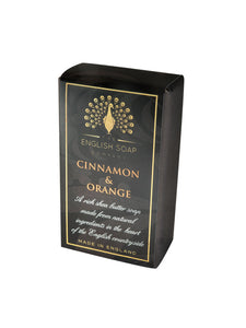 English Soap Company pure Indulgence Bath Soap - Cinnamon & Orange