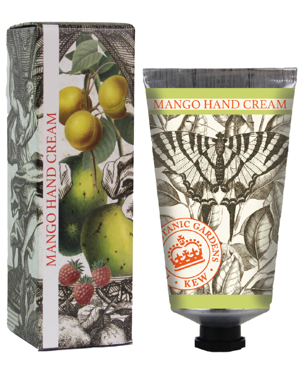 Kew Gardens Botanical -  Mango - Luxury Hand Cream