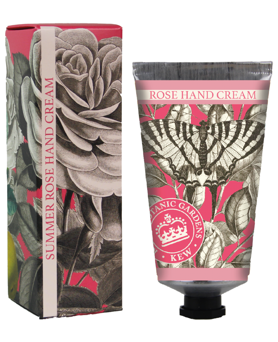 Kew Gardens Botanical -  Summer Rose - Luxury Hand Cream