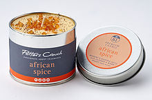 Potters Crouch perfumed candle - African Spice