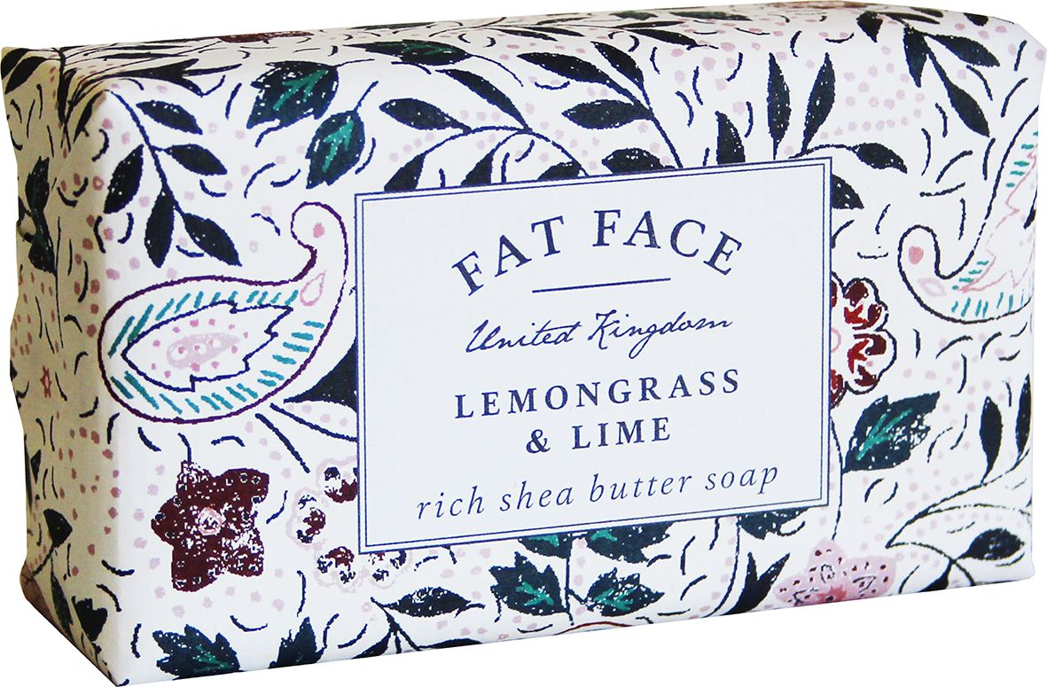 """Fat Face"" Soap - Lemongrass & Lime"