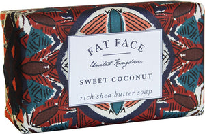 """Fat Face"" Soap - Sweet Coconut"