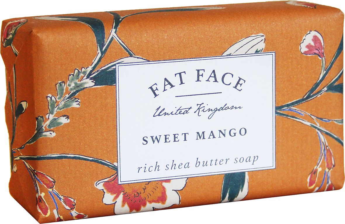 """Fat Face"" Soap - Sweet Mango"