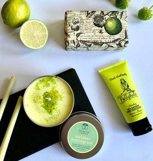 """Lemongrass & Lime"" Mother's Day gift collection"