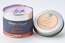 Potters Crouch perfumed candle - Indian Flowers
