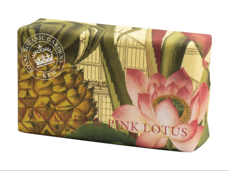 Royal Kew Gardens - Pineapple & Pink Lotus Soap
