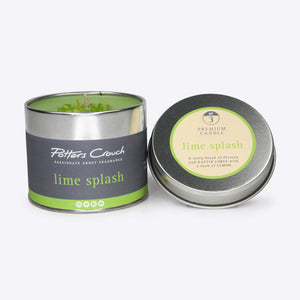 Potters Crouch perfumed candle - Lime Splash