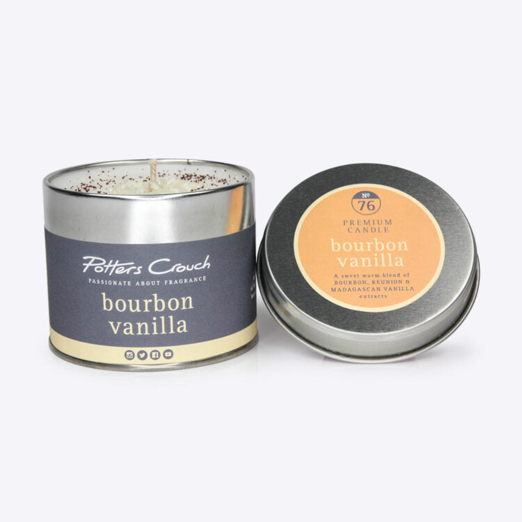 Potters Crouch perfumed candle - Bourbon Vanilla